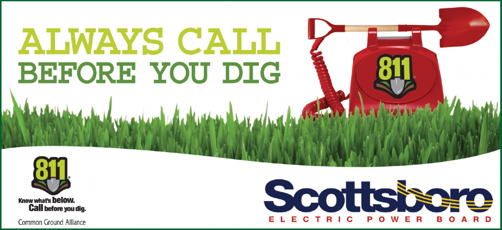 Be Safe! Always call 811 to make sure you won't hit buried lines.
